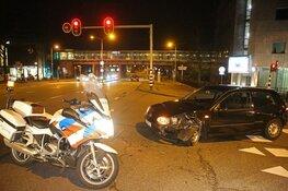 Flinke schade op kruispunt voor station in Heemstede