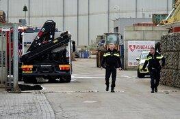 Hulpdiensten massaal naar recyclingbedrijf in Beverwijk
