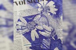 Knoppen en voorjaarsbloemen tekenen met BIC-pen bij kasteeltuin Assumburg