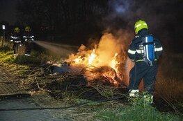 Scheepsbrand blijkt buitenbrandje te zijn in Velserbroek