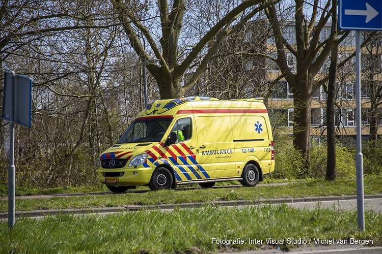 Fietser gewond na val op de Amerikaweg in Haarlem