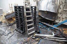 Bedrijfspand Velserbroek loopt schade op door brand pallets