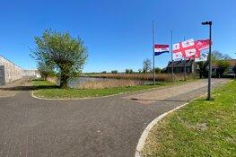 Stille herdenking in Beverwijk