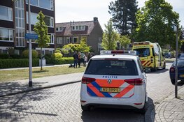 Ontruiming na brandje in droogmachine aan de Biallosterskilaan Santpoort-Noord