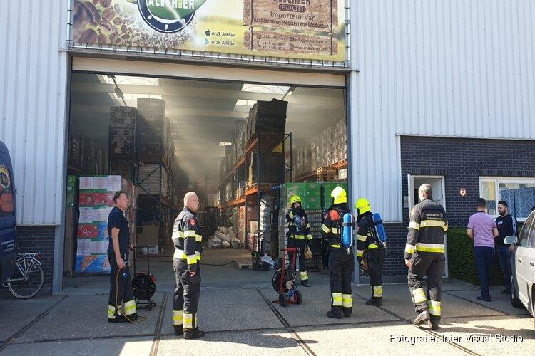 Brand in oven bij bedrijf Beverwijk snel onder controle