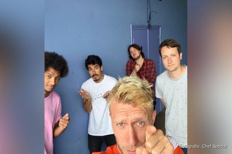 Optreden in corona-tijd: Haarlemse band Chef'Special geeft tien concerten in acht dagen
