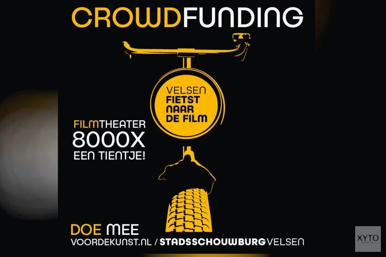 Start crowdfunding-campagne 'Velsen fietst naar de film'