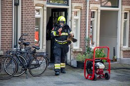 Woning vol met rook na brand droogmachine Kleverparkweg Haarlem