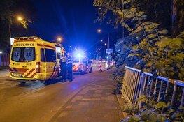 Fietsster gewond bij botsing op de Prinsenbrug