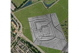 Onbekend kasteel gevonden in Heemskerk