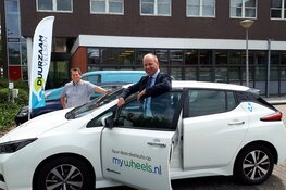 Elektrische deelauto voor buren en medewerkers gemeentehuis!