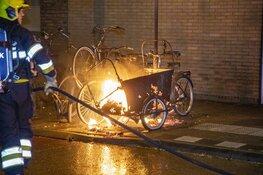 Meerdere brandjes in de Amsterdamse buurt in Haarlem
