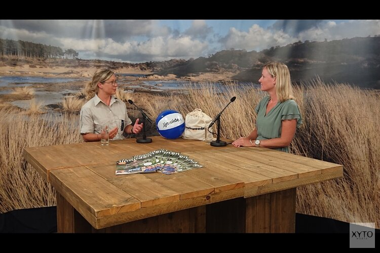 TV-programma over natuur en recreatie in Velsen