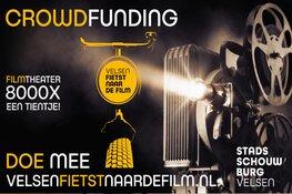 Crowdfunding 'Velsen fietst naar de film' bereikt eerste tussendoel