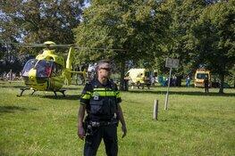 Hulpdiensten groots in actie voor incident met kind bij speelplek in Velsen