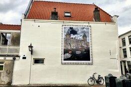 Kunstwerk van Kenau hangt in de Jansstraat