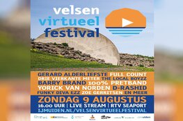 Tóch een festivalgevoel dankzij Velsen Virtueel