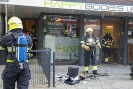 Brand bij fitness aan de Bronsteeweg in Heemstede