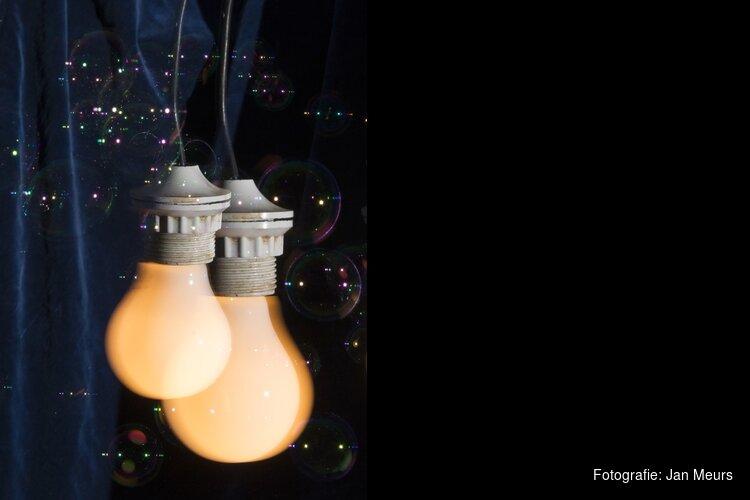 Expo 'Ode aan de gloeilamp' van Jan Meurs bij ISOO