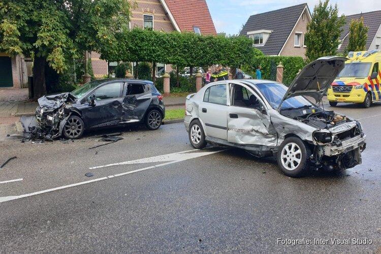 Frontale botsing in Heemskerk