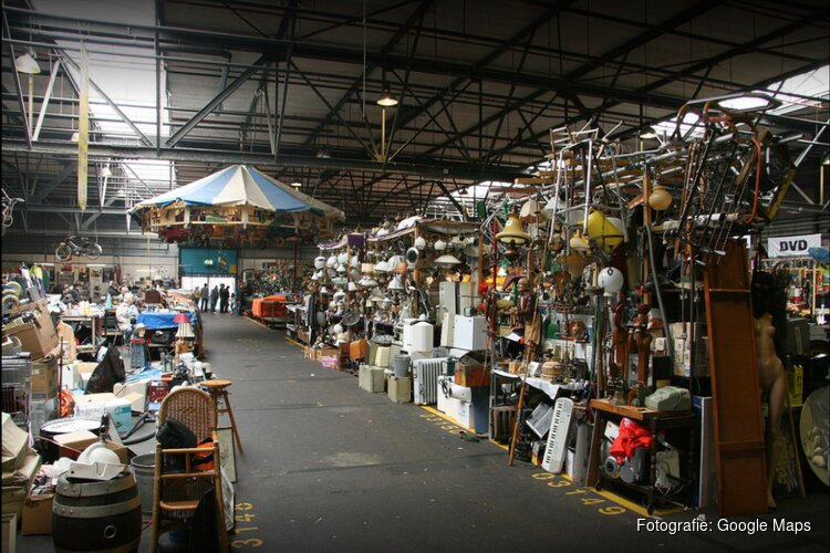 Hallen 30 t/m 33 van De Bazaar kunnen weer open