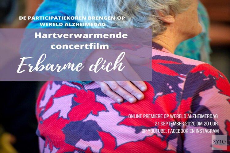 Participatiekoren maken statement op Wereld Alzheimerdag met concertfilm Erbarme dich