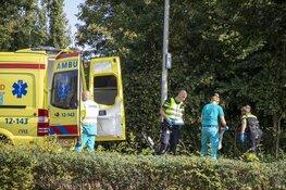 Wielrenner gewond na valpartij Zandvoorterweg
