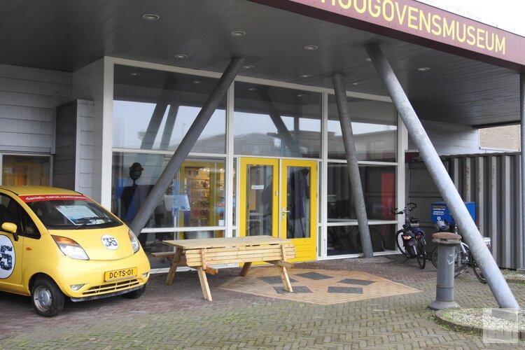 Het Hoogovensmuseum in weekenden open
