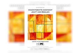 Op 9 oktober opent HDMZ Museum Zandvoort expositie Jan F. van Beelen, Onontdekte Diamant