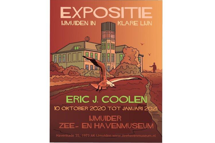 'IJMUIDEN IN KLARE LIJNEN' door Eric J. Coolen