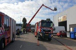Brandje bij bedrijf in Beverwijk snel onder controle