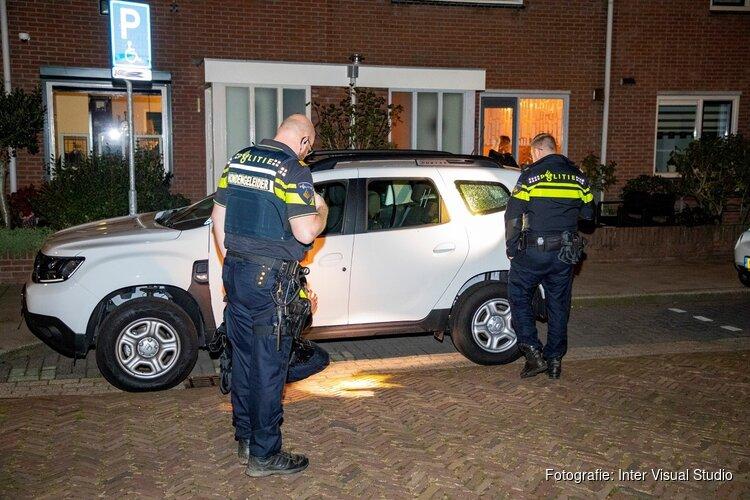 Auto beschadigd na schietpartij Schoutenstraat IJmuiden