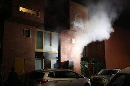 Korte, maar felle woningbrand in Haarlem
