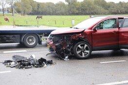 Ongeval in Velsen-Zuid door lang oliespoor