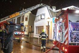 Veel rookontwikkeling bij brand aan de Stationsstraat in Zandvoort
