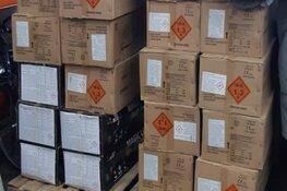 1400 kg illegaal vuurwerk in beslag genomen