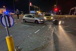 Motorrijder gewond na ongeluk in Haarlem
