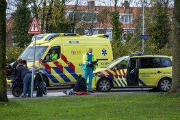 Scooterrijdster gewond na ongeval op de Lorentzkade