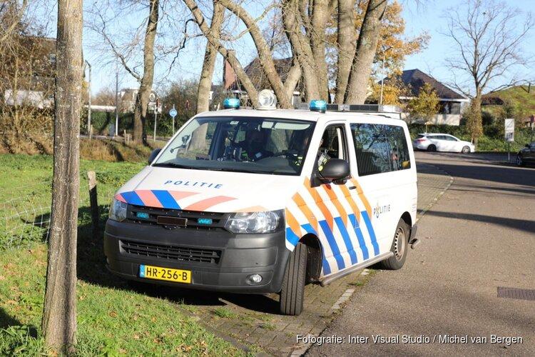 Motorrijder komt ten val in Aerdenhout