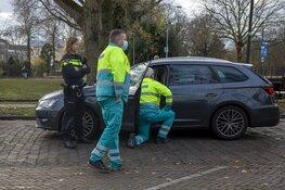 Automobilist botst op voorganger op de Kloppersingel in Haarlem