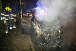 Autobrand in Velserbroek